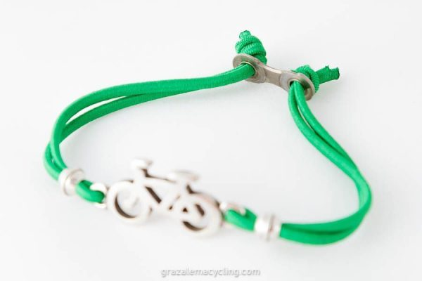 Bicycle Bracelet detail chain link